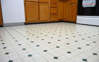 Linoleum Floor Restoration